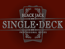 Автомат Single Deck Blackjack Professional Series от Netent